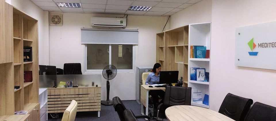 Một góc văn phòng công ty tnhh nam cang